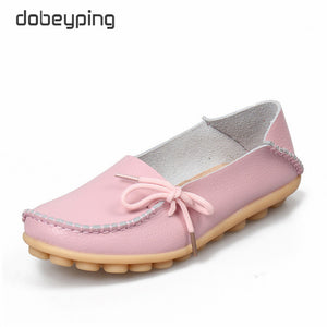 Woman Loafers Genuine Leather