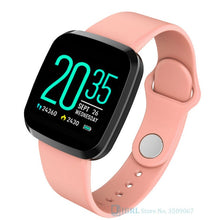 Load image into Gallery viewer, Women Men / Smartwatch For Android IOS Electronics Smart Clock Fitness Tracker Silicone Strap