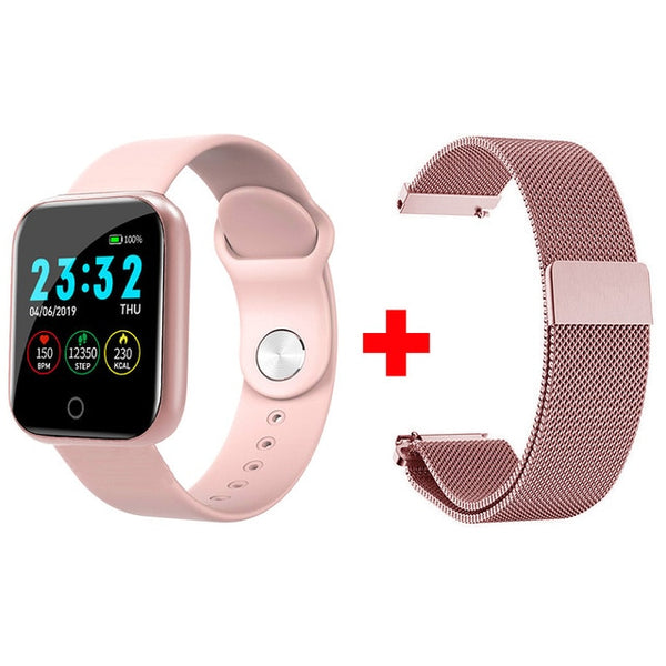Women Men / Smartwatch For Android IOS Electronics Smart Clock Fitness Tracker Silicone Strap