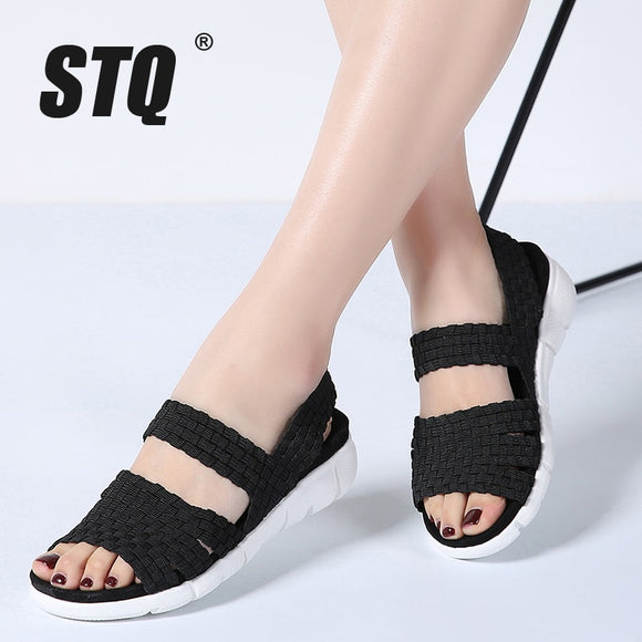 Women Woven Wedge Sandals