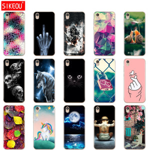 Silicon Case for Honor 8S Case Soft TPU Phone Case For Huawei