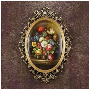 Vintage European classical wall hanging artwork