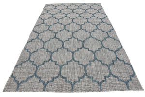 Unique Loom Trellis Outdoor Modern Geometric Area Rug or Runner