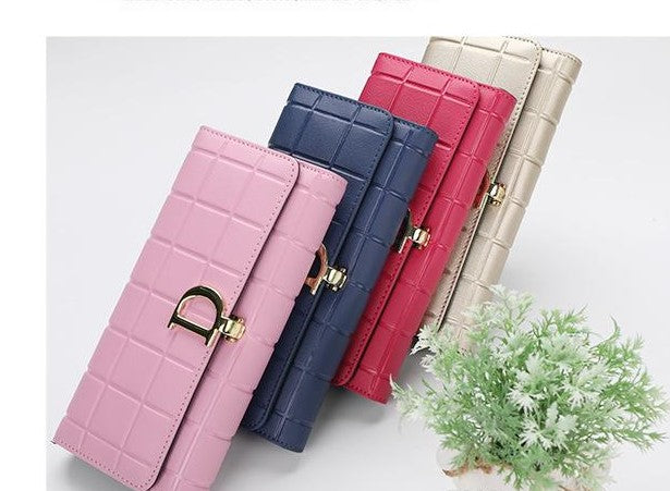 Leather Women's H Wallets