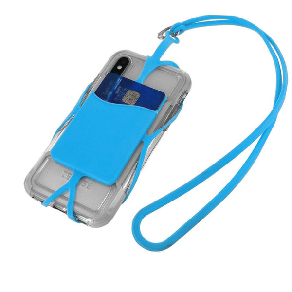 Cellphone Lanyard Strap Universal Smartphone Case Cover ID Holder Necklace for iPhone 7 8 X Xs Max Samsung Galaxy Phone