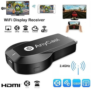 Wireless 2.4G 1080P HDMI Display Receiver WiFi Screen TV Stick Support