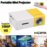 LED Mini Projector Home Media Movie Player