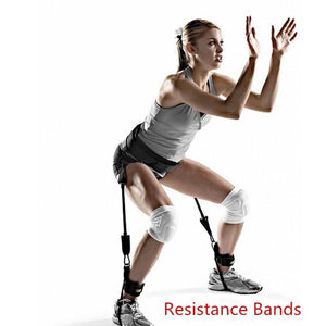 Resistance Bands Trainer Rope Crossfit Leg Training Exercise Expander Band
