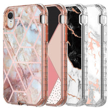 Load image into Gallery viewer, For Iphone 11 Case Luxury Marble 3in1 Heavy Duty Shockproof Full Body Protection Cover For Iphone XR XS Max Samsung Galaxy S20