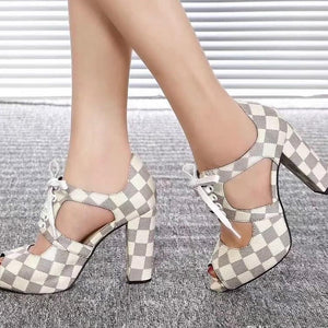 High-quality fashion women's shoes patent leather