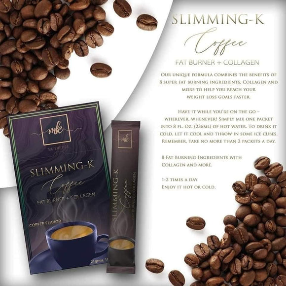 SLIMMING K COFFEE FAT BURNER + COLLAGEN