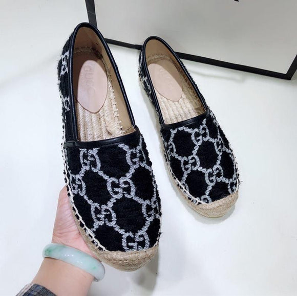 New women terry cloth espadrille luxury designer shoes women fisherman shoes women casual shoes fashion casual top quality