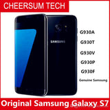 Original Samsung Galaxy S7 G930 Waterproof Mobile Phone 5.1inch 4GB RAM 32GB ROM Quad Core 2.3GHz 12MP 4G LTE unlocked smartphone