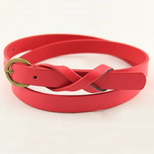Load image into Gallery viewer, Round buckle belt women
