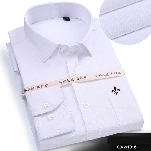 Dudalina 2019 Brand Men Shirt Male Dress Shirts Men's Fashion Casual Long Sleeve Business Formal Shirt Camisa Social Masculina