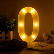Load image into Gallery viewer, Luminous LED Letter Night Light Creative 26 English Alphabet Number Battery Lamp Romantic Wedding Party Decoration