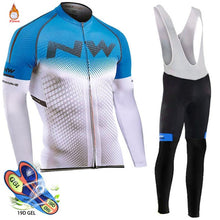 Load image into Gallery viewer, Pro Team Winter Thermal Fleece Cycling Clothes Men