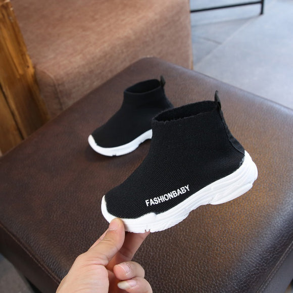 breathable leisure sports running shoes for girls shoes for boys brand kids shoes