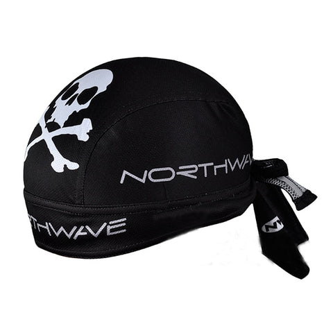New Black Cycling Bicycle Bike Outdoor Sports Bandana Pirate Hat Cap