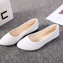 Load image into Gallery viewer, Women Flats Shoes 2019 Faux Suede Loafers Candy Color Shoes Woman Fur Flats Warm Ladies Shoes Black Boat Shoes