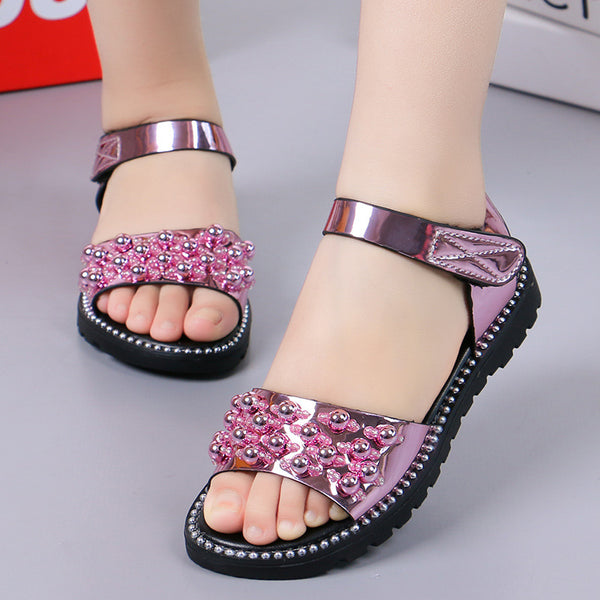 Summer New Girl Rhineston Sandals