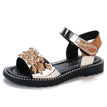 Load image into Gallery viewer, Summer New Girl Rhineston Sandals