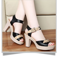 Load image into Gallery viewer, high heels women sandals