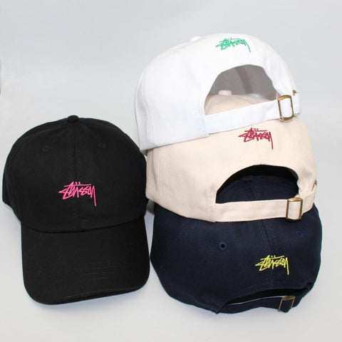 Popular Brand Baseball Caps for Men Women Embroidered Short Eaves