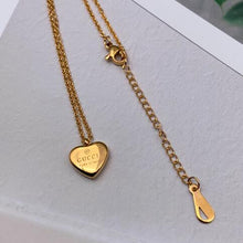 Load image into Gallery viewer, Jewelry Titanium Steel LOVE Pendant Necklace 18K Gold Plated