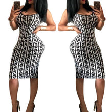 Load image into Gallery viewer, Women Luxury Plaids Bodycon Dress