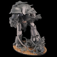 "alt=""scenic resin chain length modelled on an imperial knight valiant"""