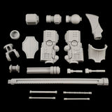 "alt=""Imperial Knight Resin Combat arm unassembled parts breakdown"""