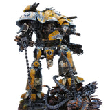 "alt=""the same knight valiant but painted up in a yellow hawkshroud colour scheme"""