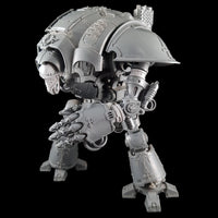 "alt=""imperial knight arm extension joints shown in use on a gauntlet arm modelled on an imperial knight with arm raised"""