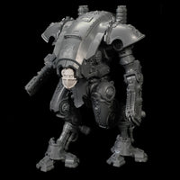 "alt=""armiger masked skull head shown modelled on a imperial knight armiger model kit"""