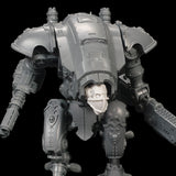 "alt=""armiger masked skull head shown on an imperial knight armiger, zoomed in view"""