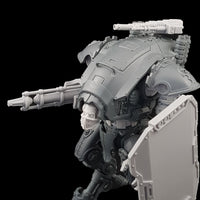 "alt=""plain pintle mounted gun shown mounted on an armiger armed with shield and conversion beam cannon"""