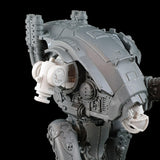 "alt=""imperial knight armiger replacement shoulder joint shown in situ on armiger"""