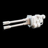"alt=""armiger wardog left hand twin autocannon weapon assembled with gun shield"""