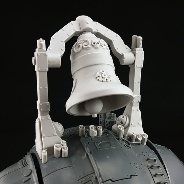 "alt=""imperial knight war bell mounted atop knight carapace"""