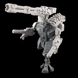 "alt=""tau broadside battlesuit smart missile pods assembled on a broadside along with right hand railgun and plasma gun arms"""