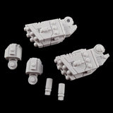 "alt=""tau broadside battlesuit missile arms unassembled components"""
