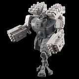 "alt=""tau broadside battlesuit missile arms assembled on a tau broadside model with additional smart missile racks"""