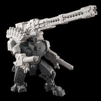 "alt=""tau broadside battlesuit railgun assembled on a broadside model along with smart missile pod and plasma gun arms"""