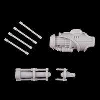 "alt=""Armiger resin convergence beam cannon unassembled components"""