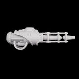 "alt=""armiger convergence beam cannon fully assembled against black background right side view"""