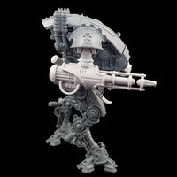 "alt=""convergence beam cannon assembled on an armiger, side view"""