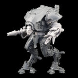 "alt=""graviton pulsars assembled on imperial knight armiger with skull head"""