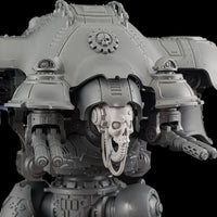 "alt=""imperial knight skull head assembled on an imperial knight dominus pictured right side"""