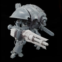 "alt=""Imperial Knight Ionic Las-Propulsor assembled with two fins on an imperial knight"""